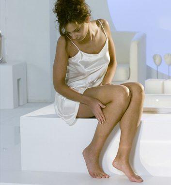 Kompressionsstrümpfe erfordern eine sorgfältige Hautpflege