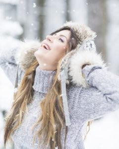 Beim Wintersport auf die Hautpflege achten.