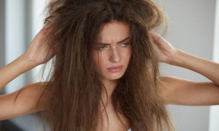 Hilfe für strapaziertes, trockenes Haar